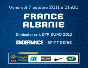 match france albanie 7 oct 2011