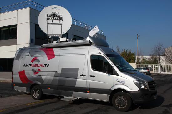 7 Stations Sng 1 Car Régie équipé Satellite Et Station Fly