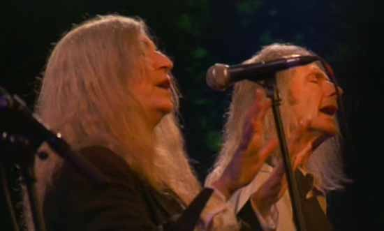 Patti Smith et John Cale enflamment la Fondation Cartier